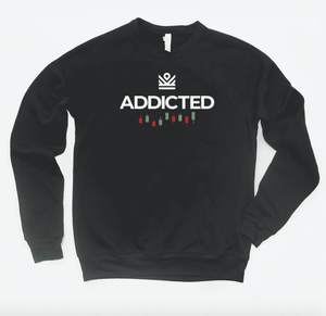 addicted - crewneck