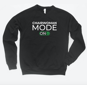 chairwoman mode on - crewneck