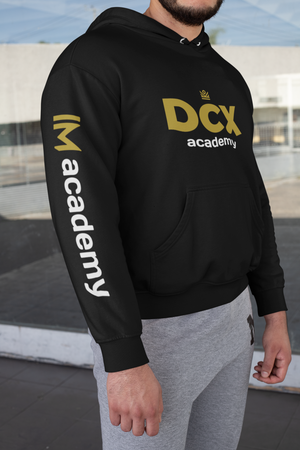 dcx hoodie with IM academy sleeve [LIMITED QUANTITY]