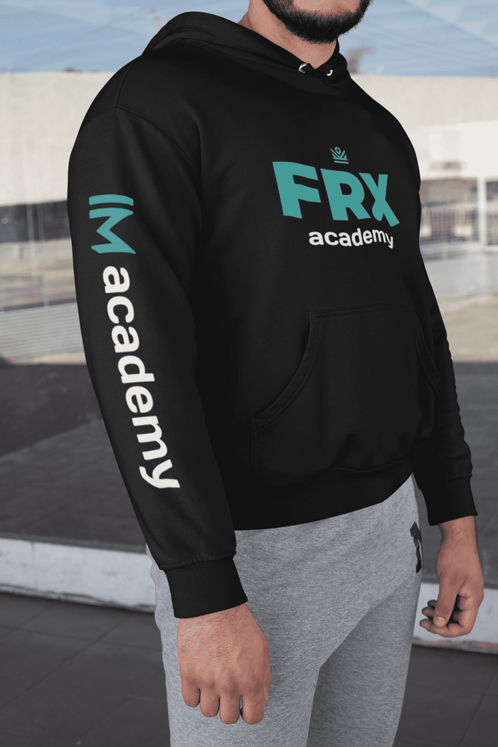 frx hoodie with IM academy sleeve [LIMITED QUANTITY]