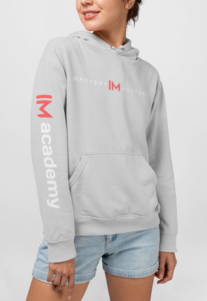 mastery IM academy hoodie with IM academy sleeve [LIMITED QUANTITY]
