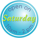 Now open Saturdays