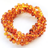 Amber Teething Necklace Honey Color
