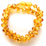Amber Teething Necklace - Lemon Color