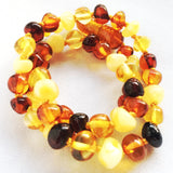 Multi Amber Teething Necklace