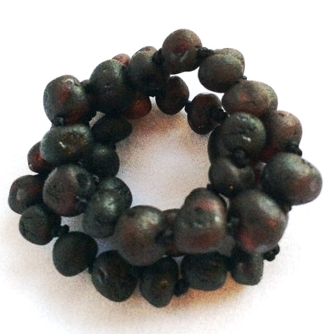 Raw Molasses Amber Teething Necklace