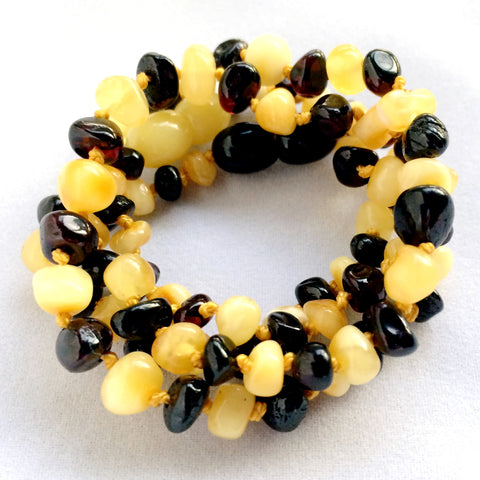 Duo Amber Teething Necklace