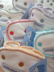 Happy Little Clouds - Sustainablebabyish HLC Fitted Diapers