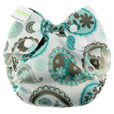 Blueberry Newborn Simplex Paisley