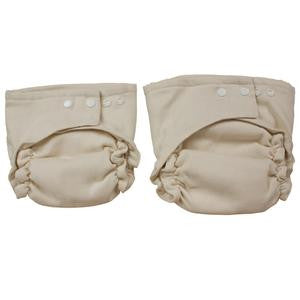 OsoCozy Two Size Birdseye Cotton Fitted Diaper