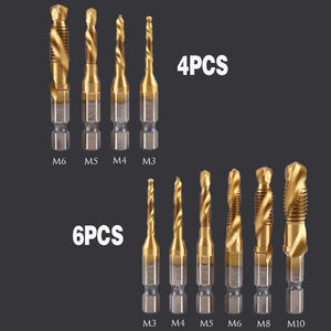 Composite Tap Drill Bit Set (6PCS)