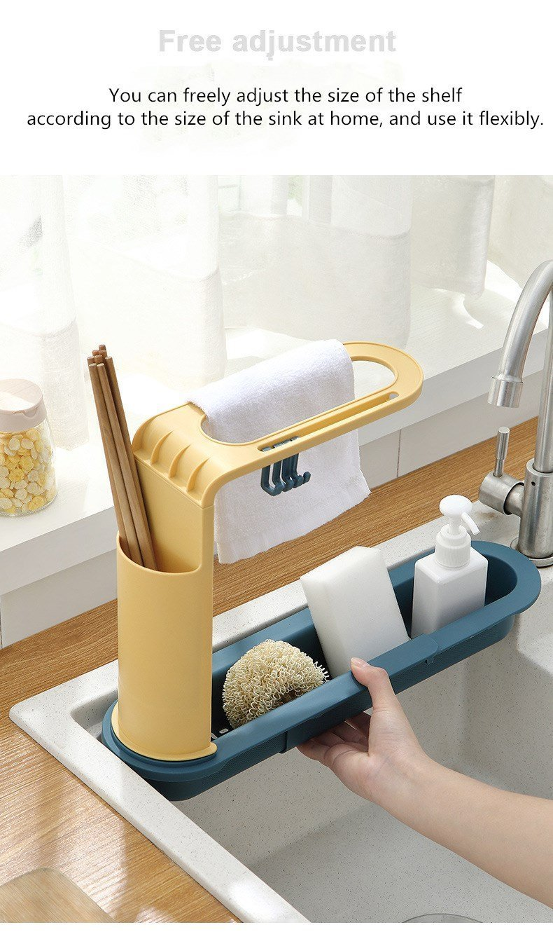 Telescopic Drain Rack