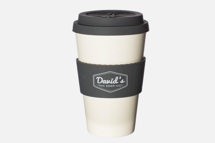 David's Shop Reusable Cup - Grey
