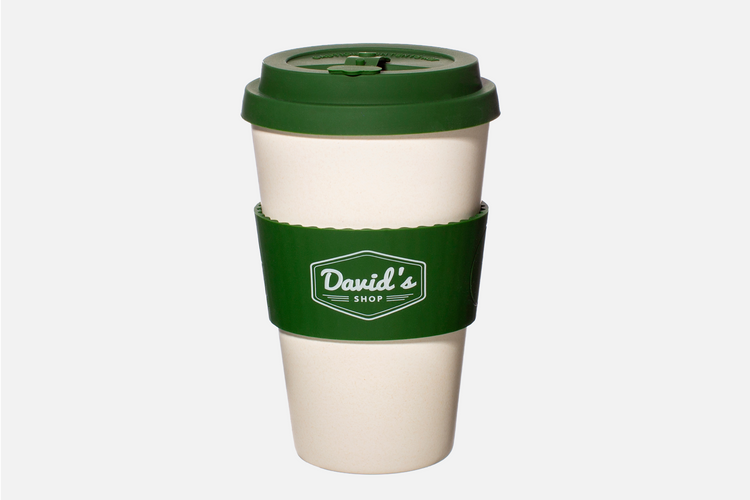 David's Shop Reusable Cup - Green
