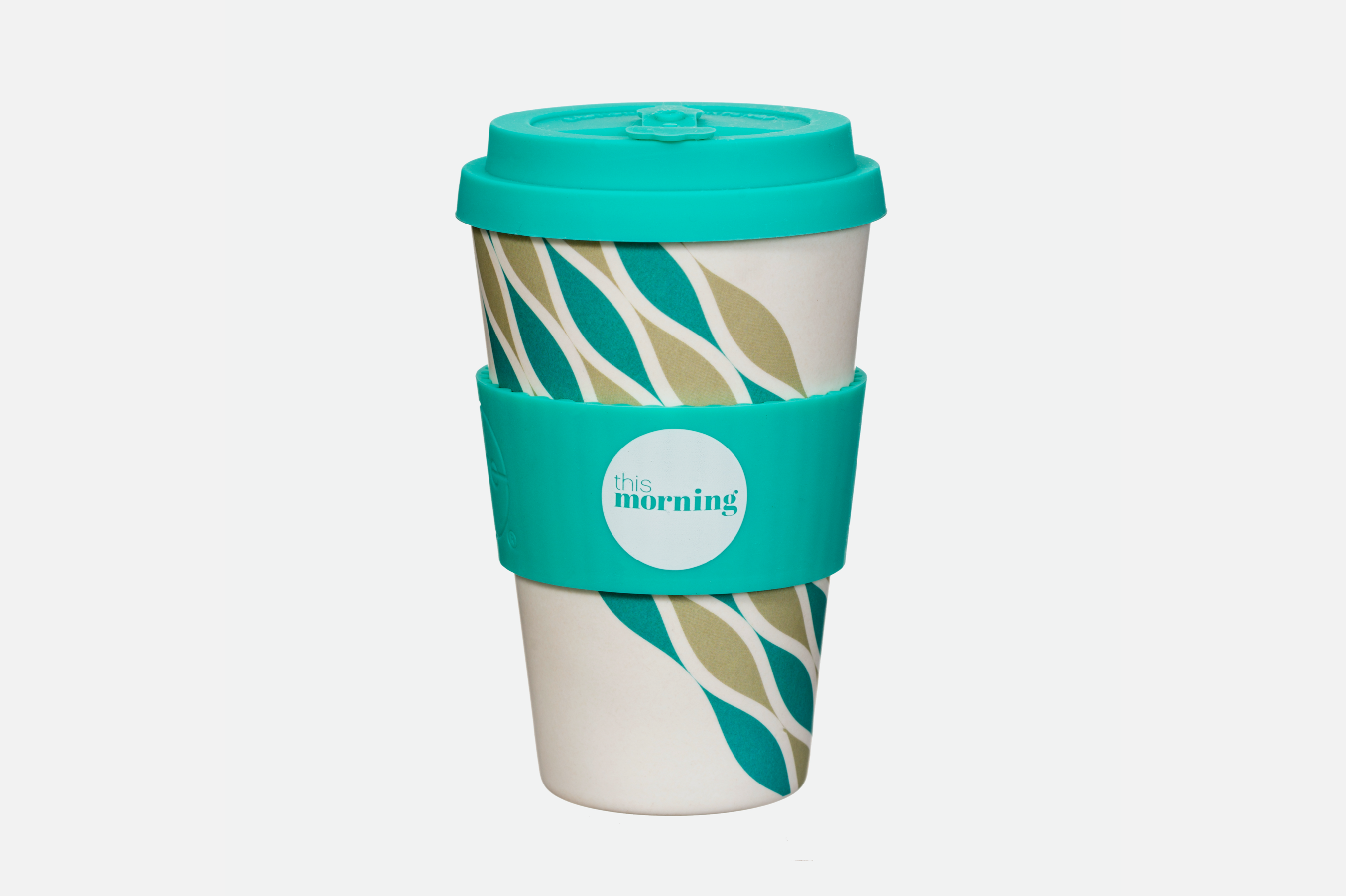 This Morning Reusable Cup - Teal