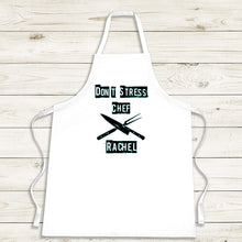 Load image into Gallery viewer, Don't Stress Chef Apron - Personalised Gift