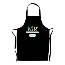 Load image into Gallery viewer, Mr & Mrs Wedding Day Apron - Personalised Gifts