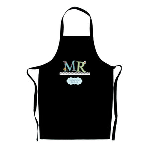 Mr & Mrs Wedding Day Apron - Personalised Gifts