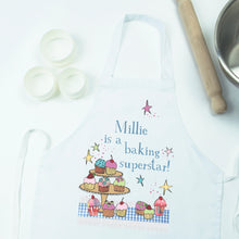 Load image into Gallery viewer, Personalised Baking Superstar Apron