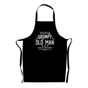 Grumpy Old Man Apron - Cheeky Gift for Dads or Grandads