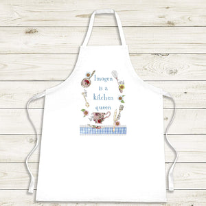 Personalised Kitchen Queen Apron