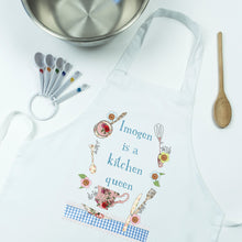 Load image into Gallery viewer, Personalised Kitchen Queen Apron gift