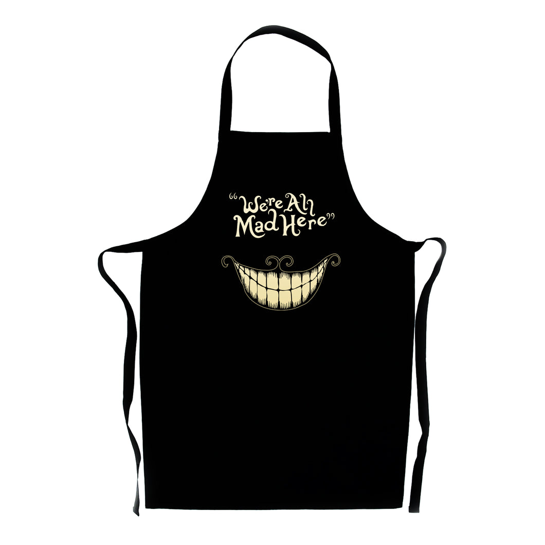 We're All Mad Here Apron - Quirky Gift