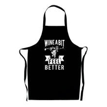 Load image into Gallery viewer, Wine A Bit You'll Feel Better Apron - Funny Adult Gift