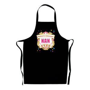 World's Greatest Nan Ever Apron