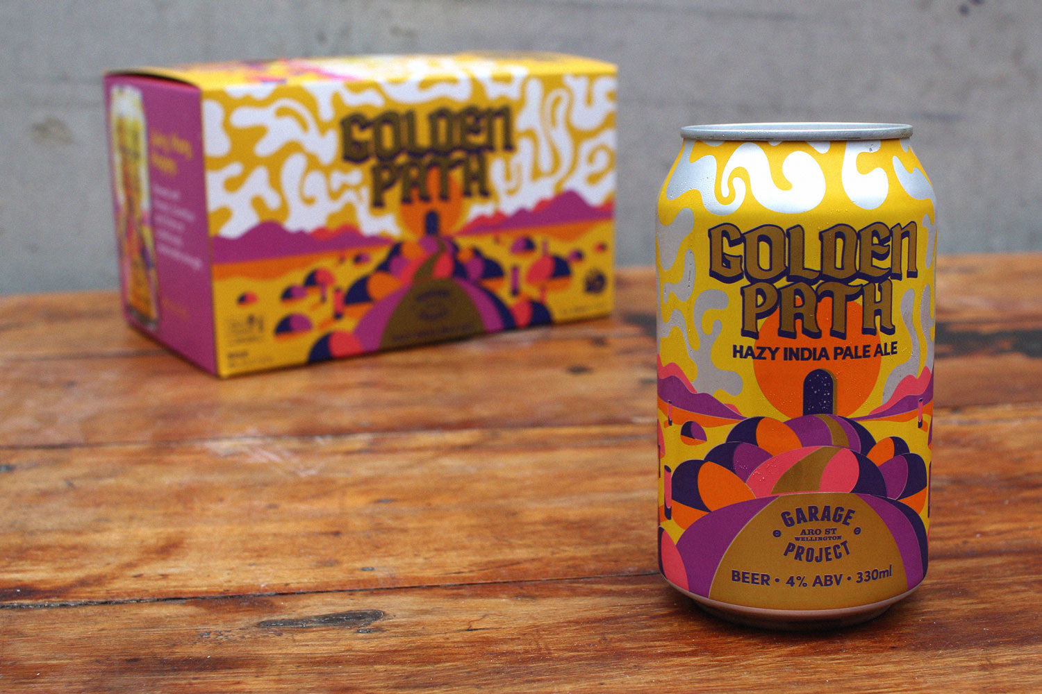 Garage Project 'Golden Path' 6 Pack