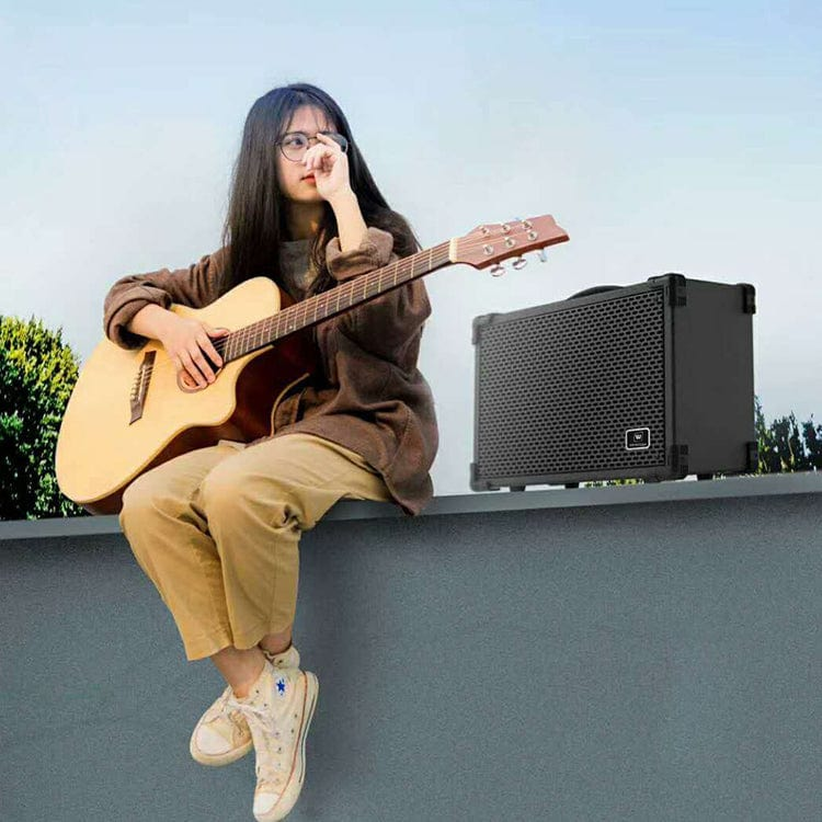 Portable Pa Speaker A8 | Multifunctional Speaker For Guitar Personal Entertainment 120W