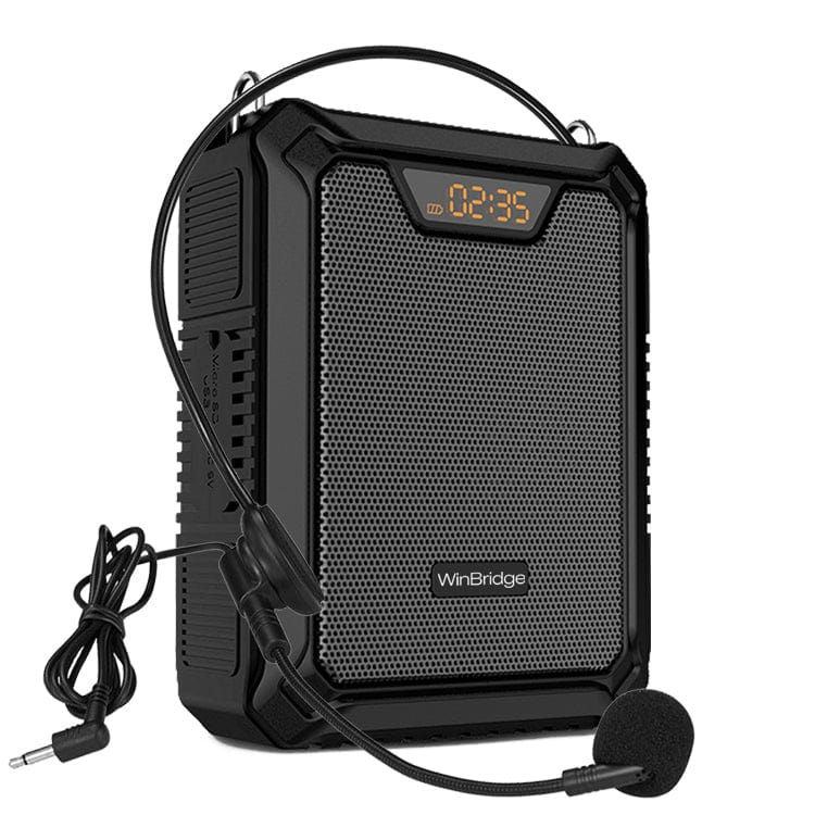 W WinBridge Voice Amplifier m900 with Microphone 25W Rechargeable Waterproof IPX6 Bluetooth 5.0 Mini PA System for Teachers--- Pre Order Now