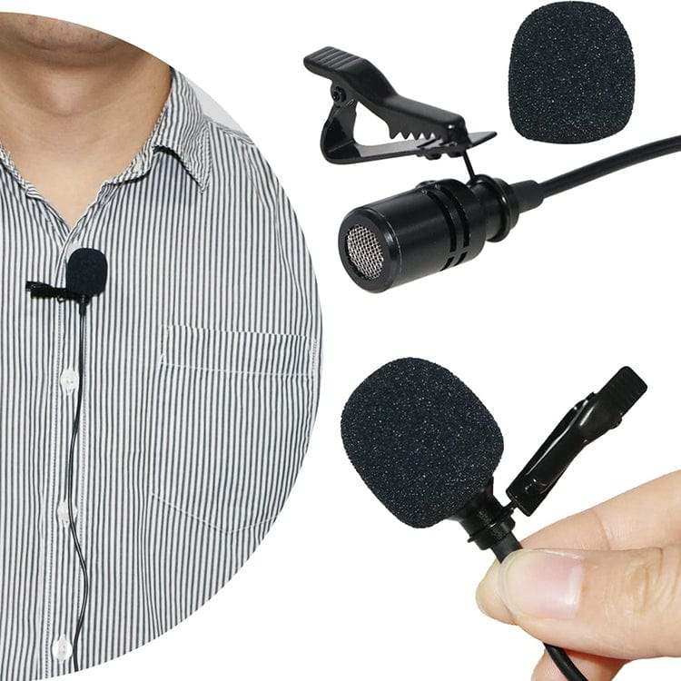 WinBridge Portable Collar Clip Microphone 3.5mm  S6