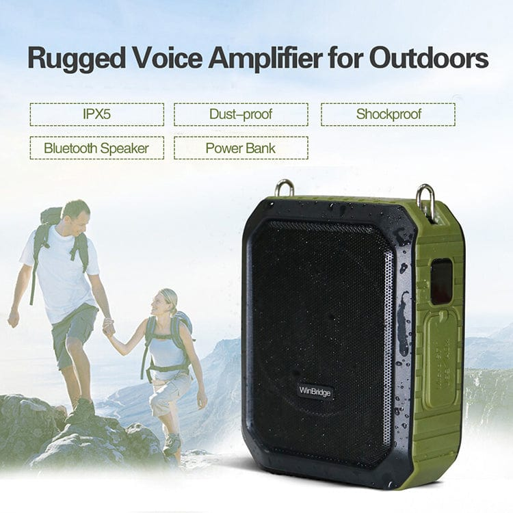Portable Voice Amplifier M800 | With Wired Mic Headset Waterproof