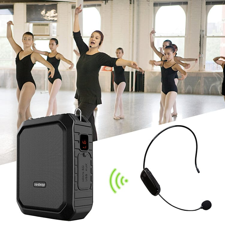 Portable Voice Amplifier M800 | With UHF Wireless Mic Waterproof