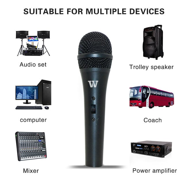 Handheld Microphone S7 Dynamic Mic for T9 etc