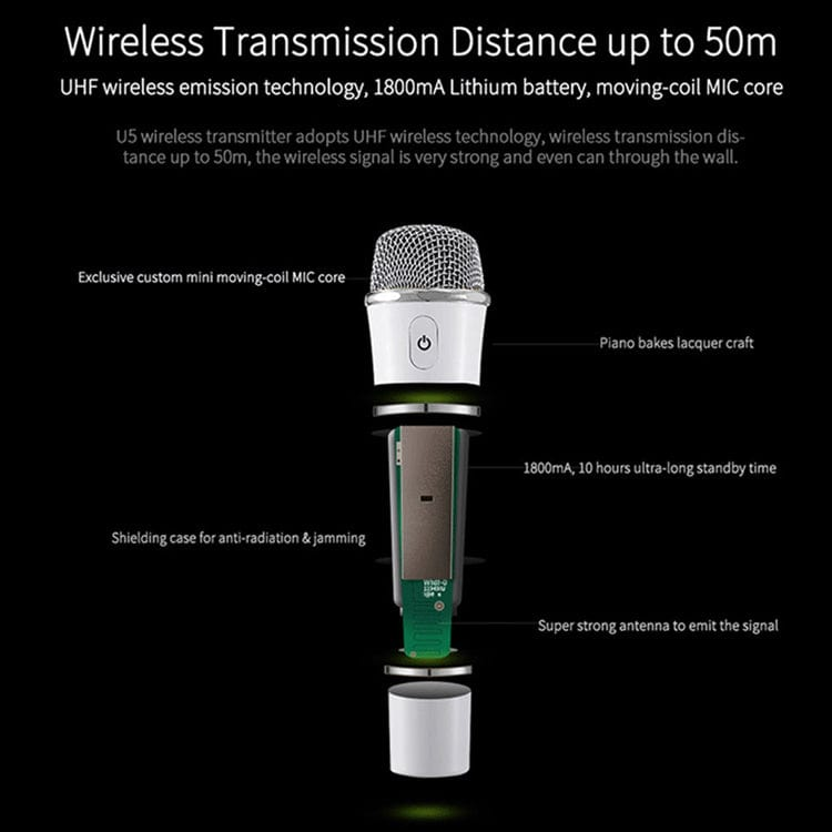 U5 Handheld Microphone for S92 Pro