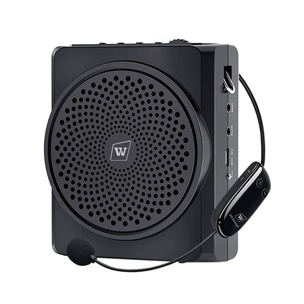 Portable Voice Amplifier S619UHF With Wireless Microphone and Bluetooth for Teachers