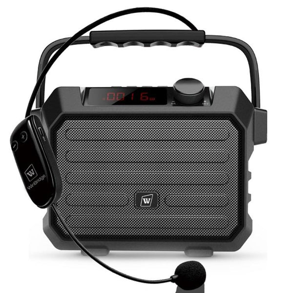 Portable PA System H5  With UHF Headset Mic 30W