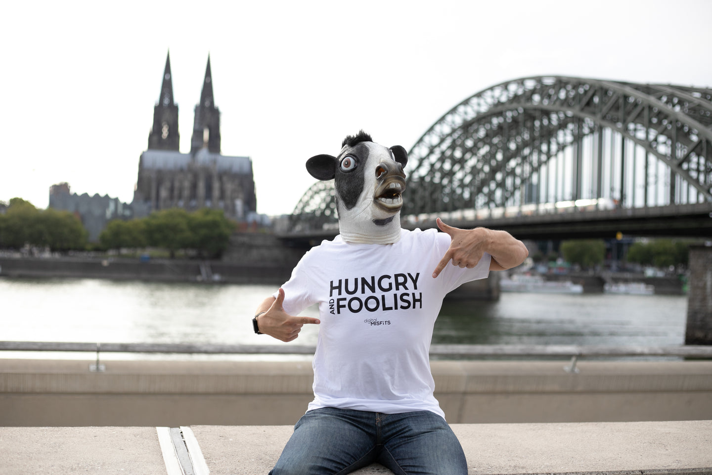 T-Shirt Gents | Hungry And Foolish