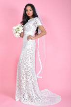 Load image into Gallery viewer, Mirage White Fully Lined Wedding Dress