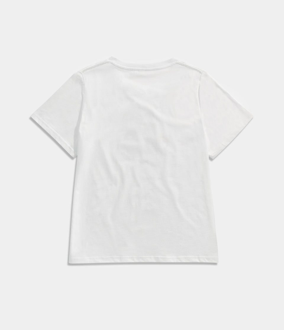 Graphic Print Basic T-shirt