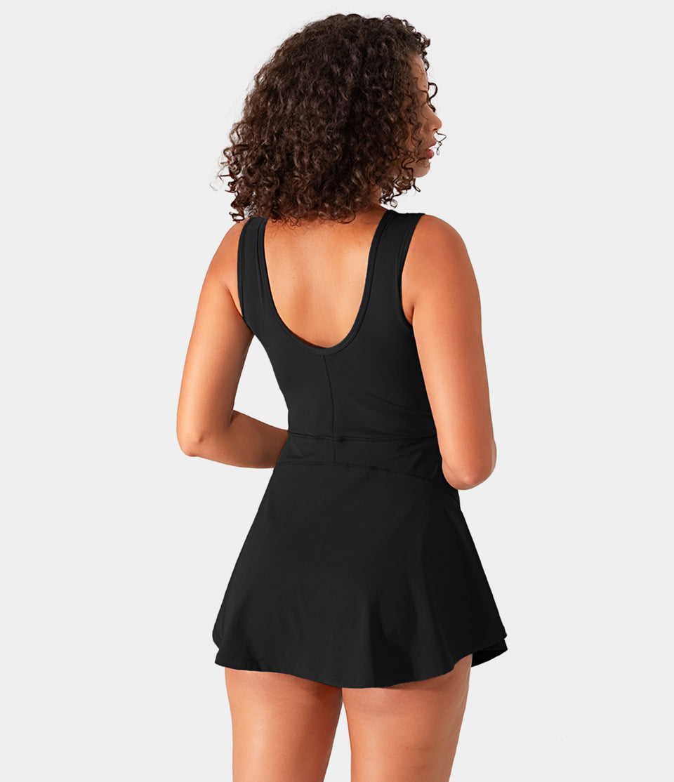 Bloom, 2-in-1 Side Pocket Golf Tennis Dress