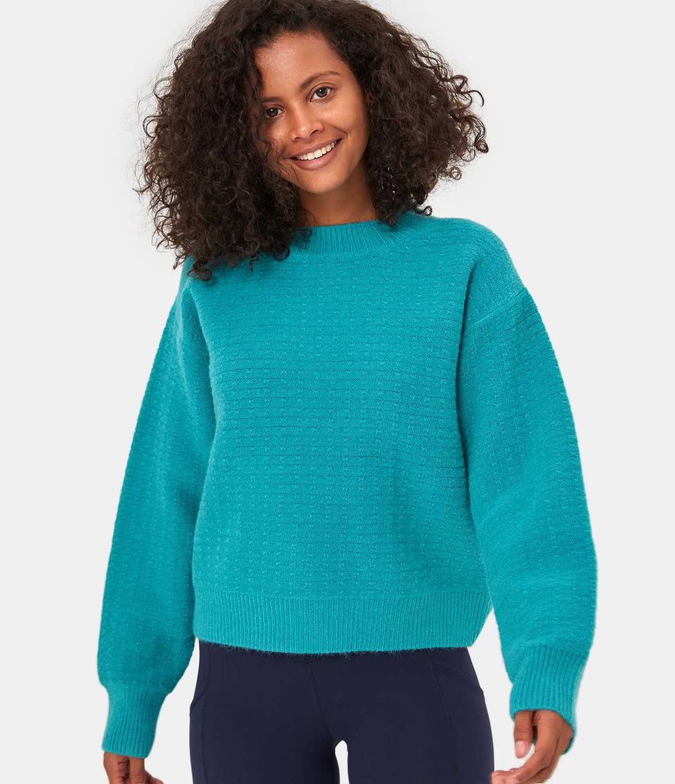 Solid-Color Sweater