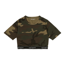 Load image into Gallery viewer, Carhartt WIP Script Crop Top