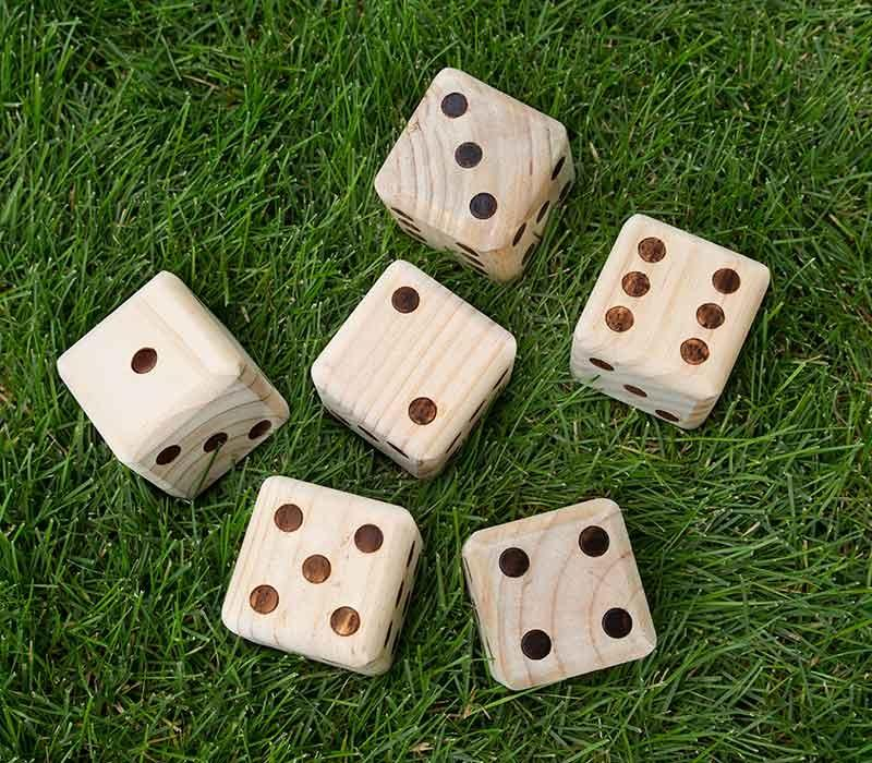 Yard Games - Giant Wooden Yard Dice