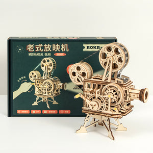 Mechanical Model - Vitascope Vintage Movie Reel Projector