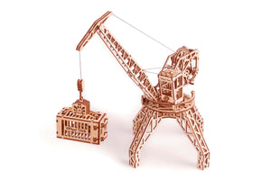 Mechanical Model - Crane with Container