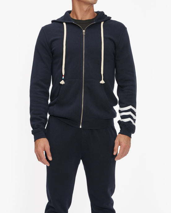 SOL ANGELES SOL ESSENTIAL ZIP HOODIE