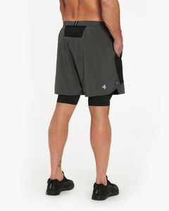 "FOURLAPS COMMAND TRAINING SHORT 7"" – LINED"
